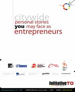 InitiativeTO Invites entrepreneurs Global Entrepreneurship Week Toronto: November 15 – 21, 2010, by bizjunction.blogspot.com