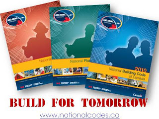 Collage: Build for Tomorrow: 2010 National Building Codes of Canada, wobuilt.com