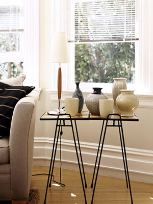 end tables, set side by