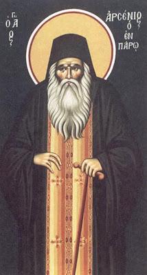 SAINT ARSENIOS of Paros