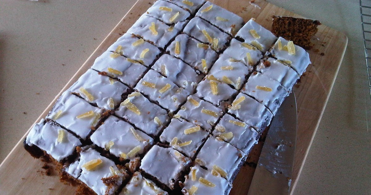The Student Chef Mary Berry Gingerbread Traybake