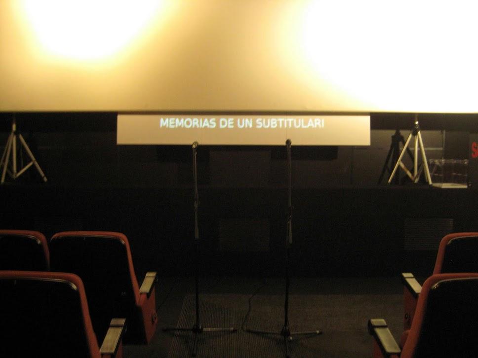 Memorias de un subtitulari