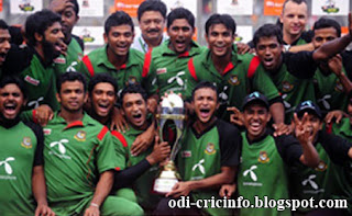 Bangladesh Sweep the series 4-0