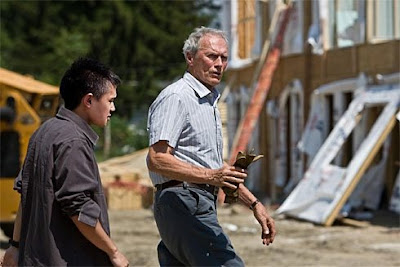 Gran Torino is starring Clint Eastwood and Bee Vang.