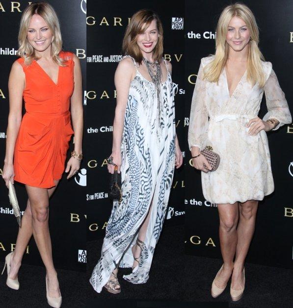 Celebrity Fashions: Demi Moore, Kirsten Dunst, Olivia ...