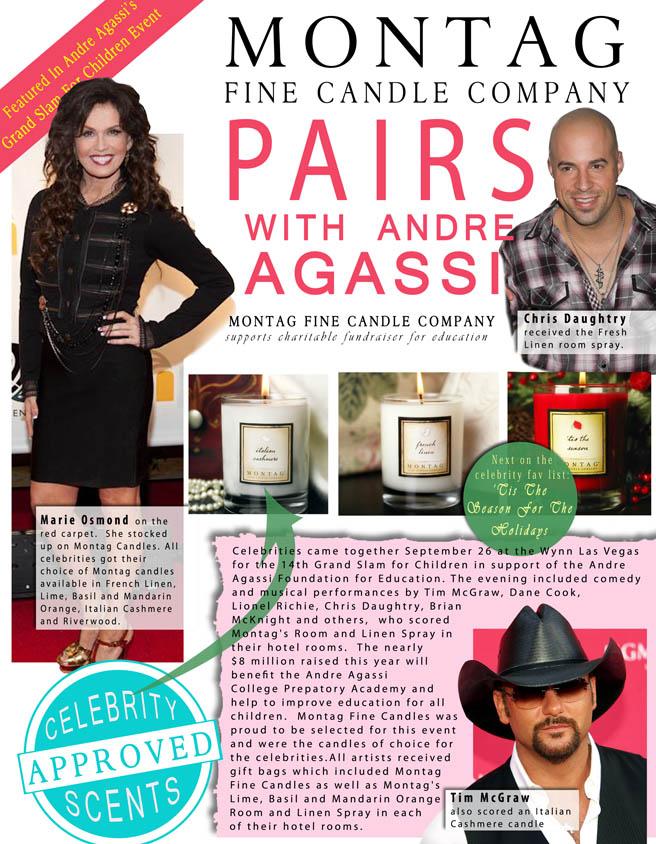 Celebrities who enjoy Montag fragrances