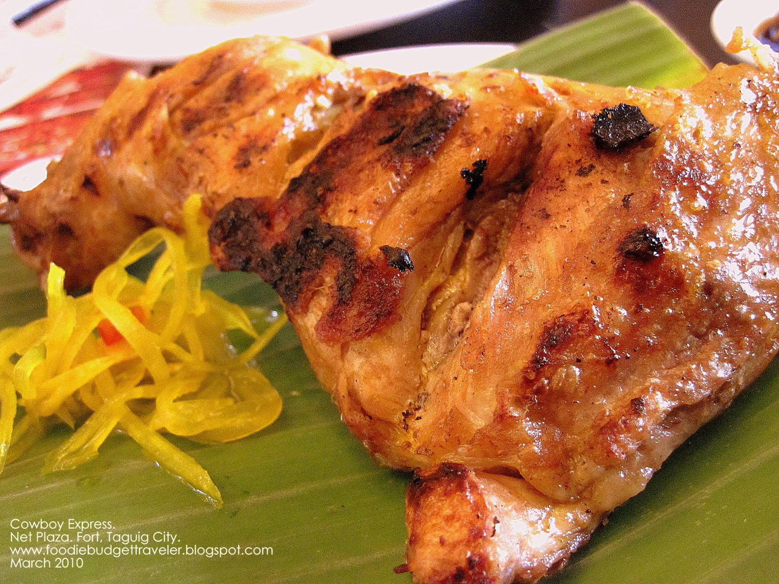 Foodie Budget Traveler: Cowboy Express Grill (Fort, Taguig ...