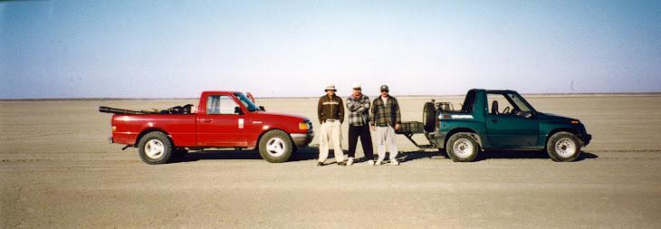 Laguna madre seca al norte de la pesca Tamaulipas