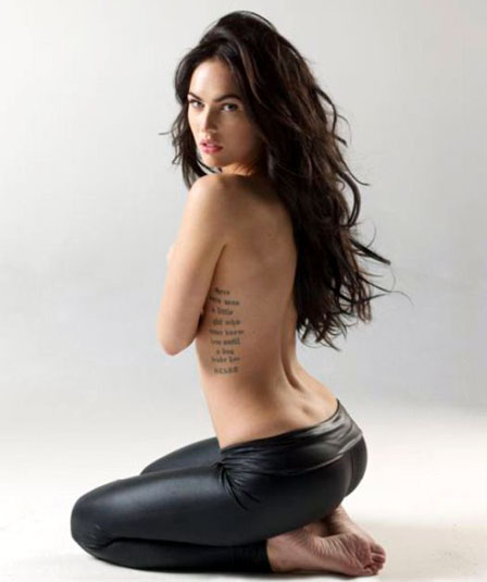 MEGAN FOX named sexiest woman in world