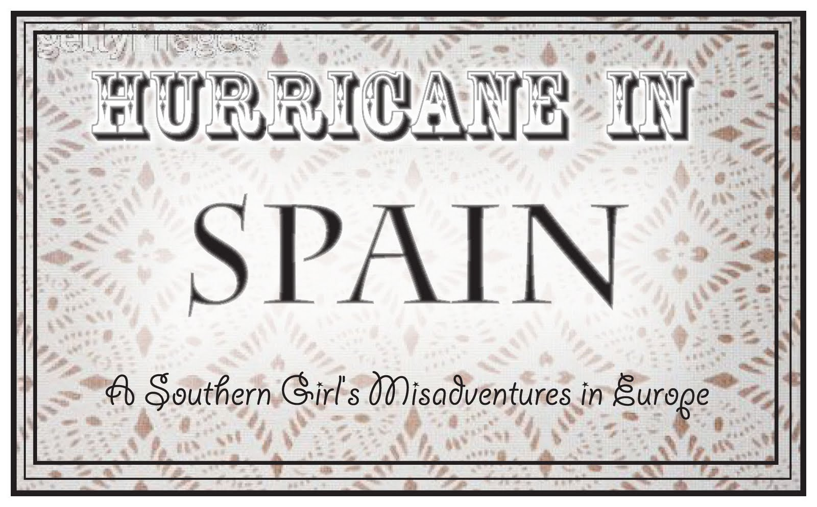 Hurricane in Spain