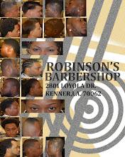 ROBINSONS BARBERSHOP 2801 LOYOLA DR KENNER,LA