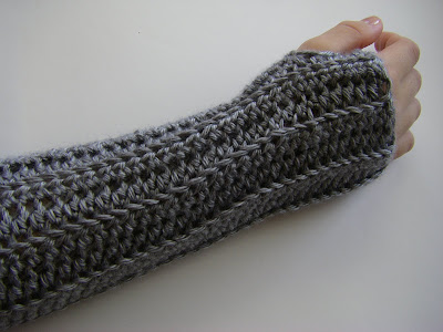 Crochet Patterns Arm Warmers : HOW TO CROCHET ARM WARMERS Crochet For Beginners