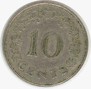 Moneda antigua Нумизматика malta coin galeas ship монета с парусником Мальты moneda Galezza