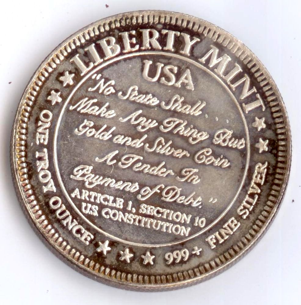 The New 2017 1 ounce Silver bullion coins.