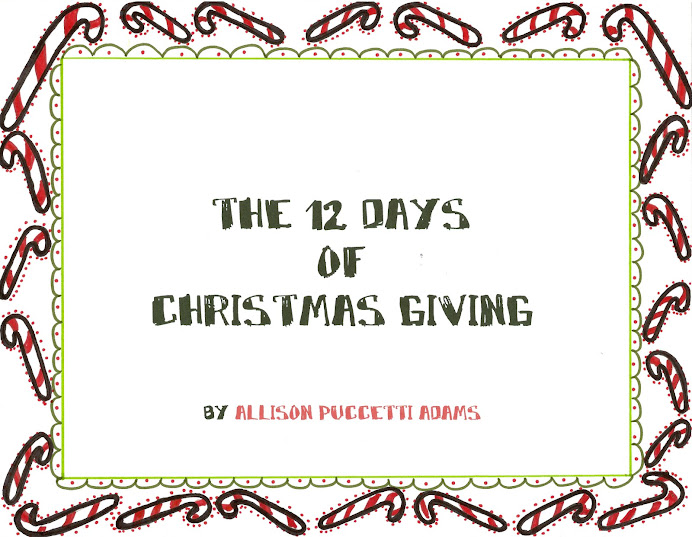 THE TWELVE DAYS OF CHRISTMAS GIVING