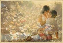 Conocerte y rozar tus labios con mi rostro de amor...