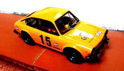 Seat 850 Coupe Naranja