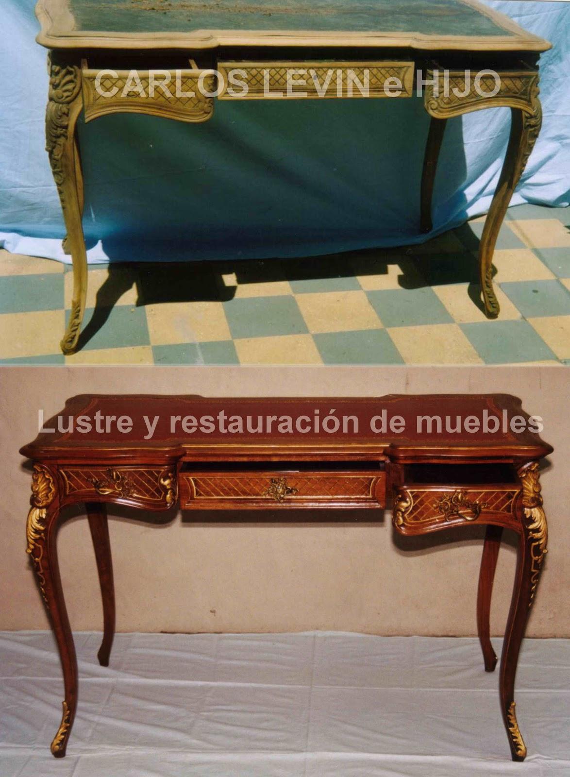 Argentina restauracion y lustre de muebles escritorio - Restauracion de muebles ...