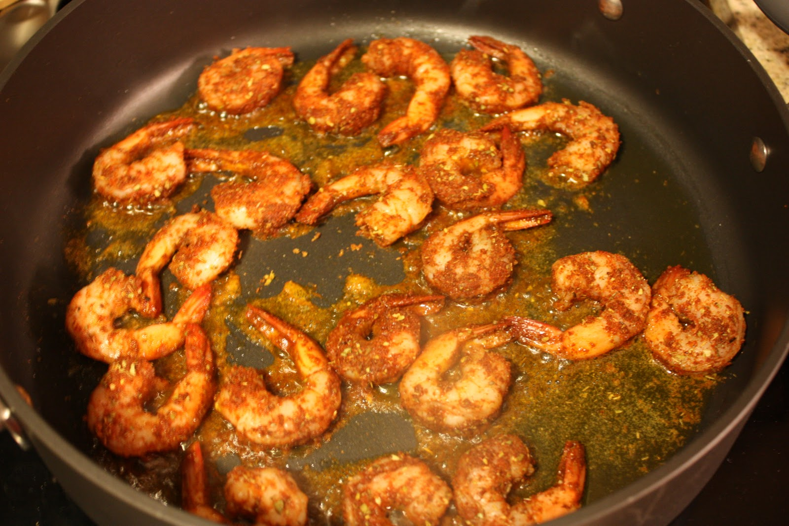 Meet the Sullivans: Blackened Shrimp with Pomegranate ...