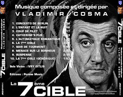 Disques et CD de musiques de films - Page 3 La_7eme_Cible_BACK
