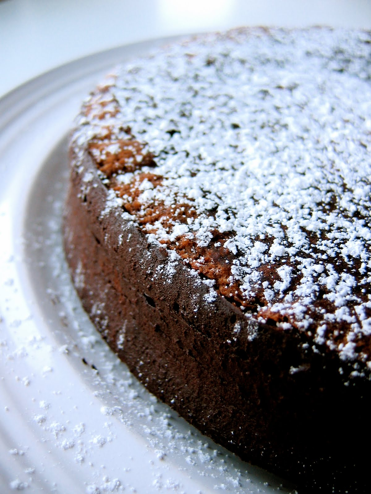 Gluten-free!) Chocolate Hazelnut Brown Butter Cake