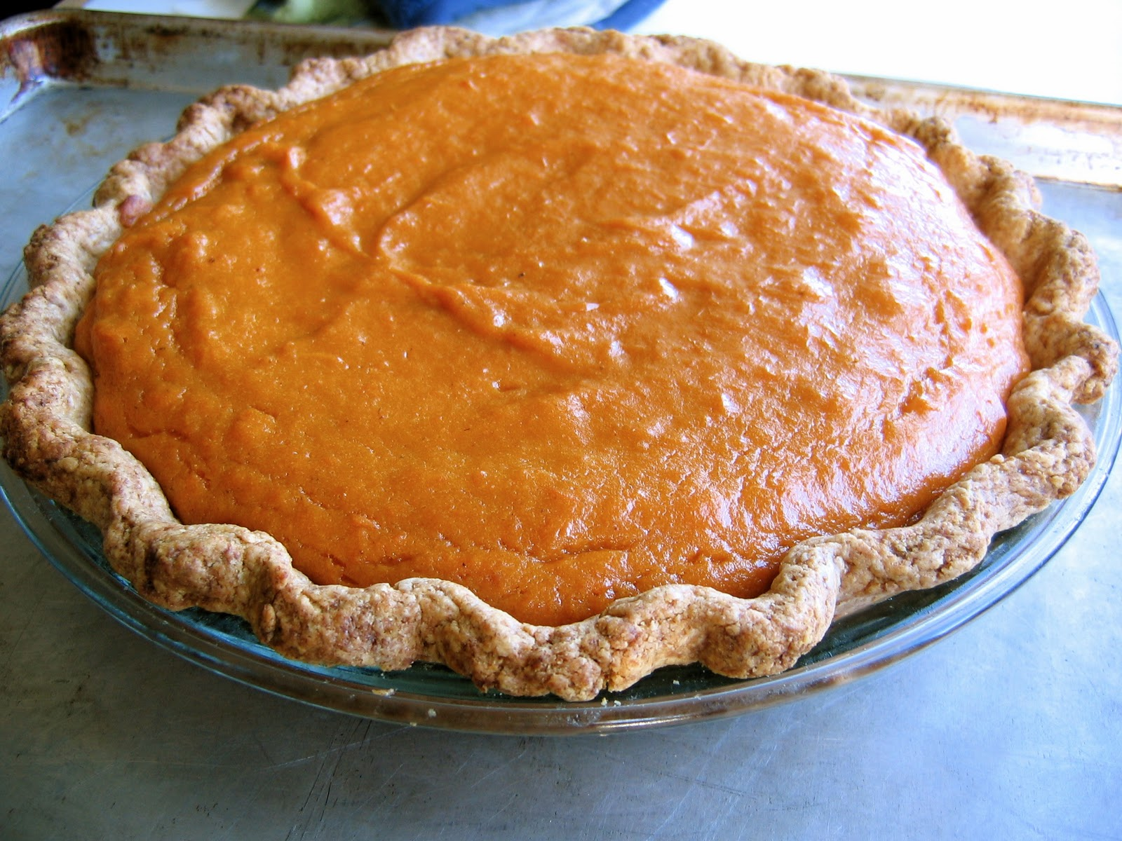 Pecan-Topped Sweet Potato Pie • The Bojon Gourmet