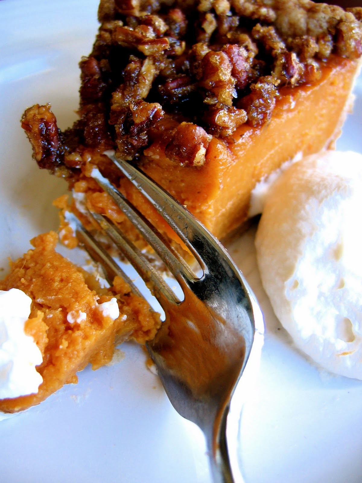 ... pie with gingersnap pecan crust sweet potato pie with pecan topping