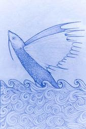 finjo a fazer de conta feito peixe : avião