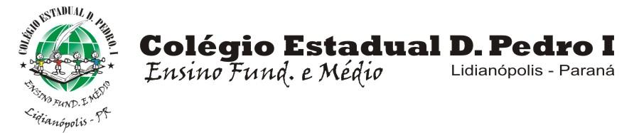 Colégio D. Pedro - Lidianópolis