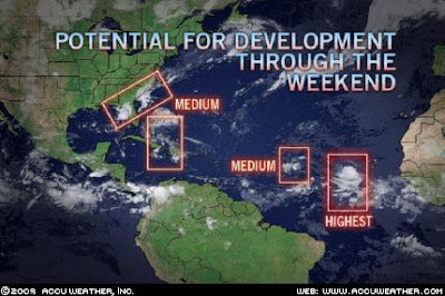 >Hurricane Threat increasing for the United States