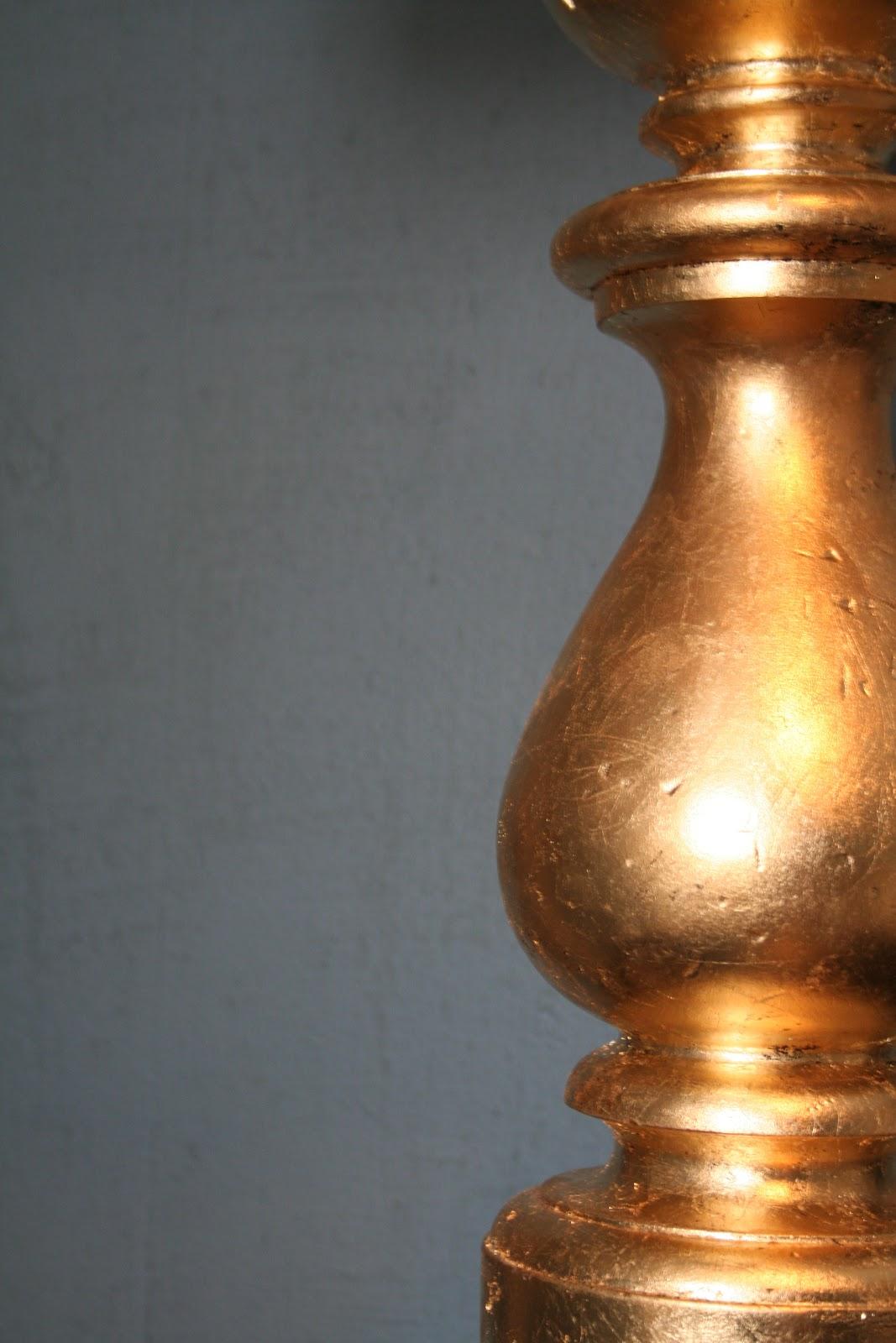 Design Dump Diy Gold Leafed Lamp