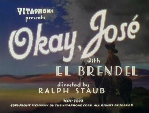 okay jose with el brendel