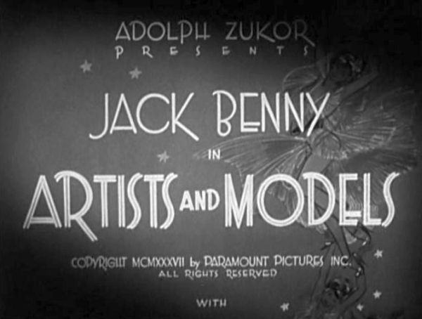 Artists and Models title card