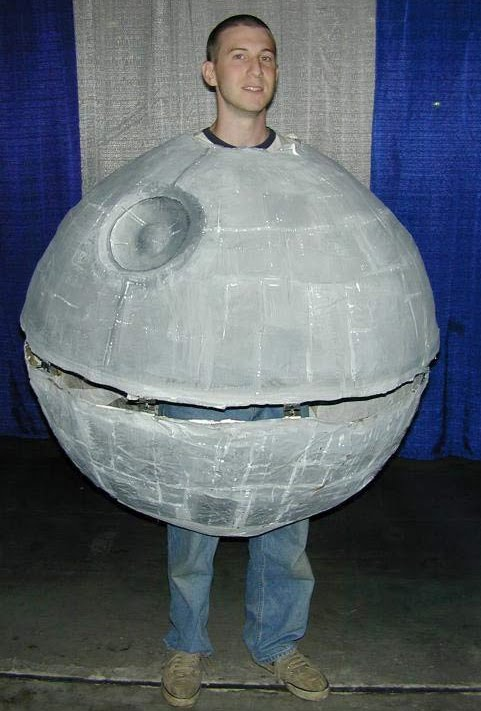 We can attack this guy for his lame attempt at a Star Wars Death Star