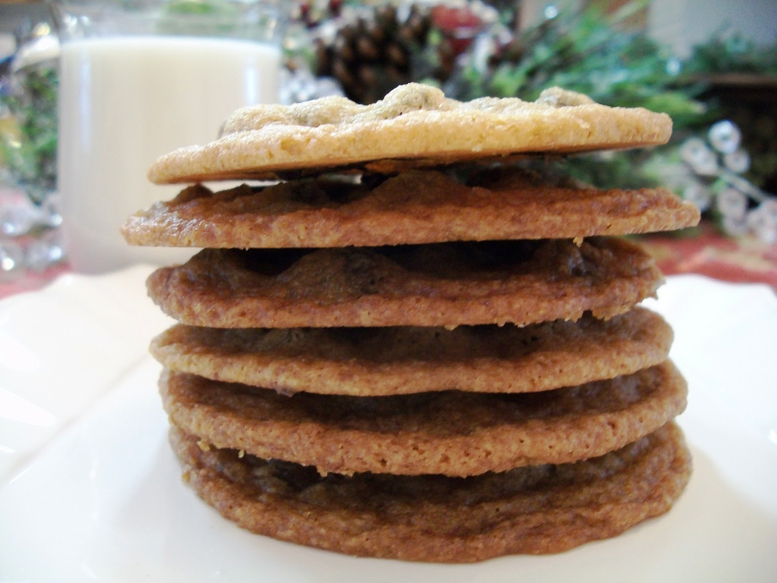 My Kind of Cooking: Tate's Famous Chocolate Chip Cookie Recipe