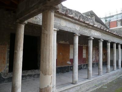 Oplontis. Exterior de la Vil·la de Popea