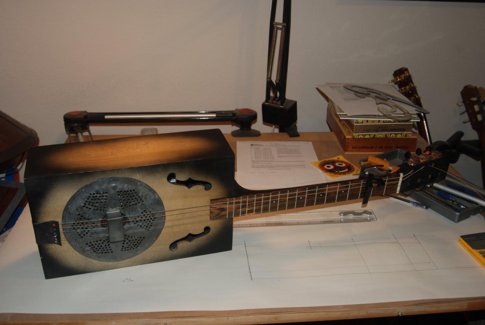 Wine Box Guitar Plans