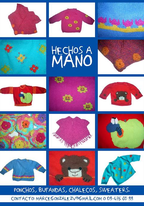 HECHO A MANO - ( HANDMADE ) - (FAIT À LA MAIN)
