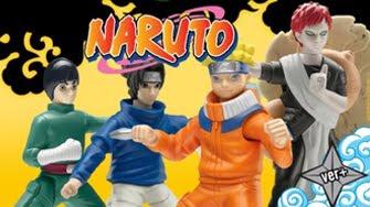Naruto Mc'Donalds Cajita Feliz