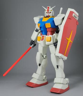 Gundam RX-78 Gunpla 1,5 metros