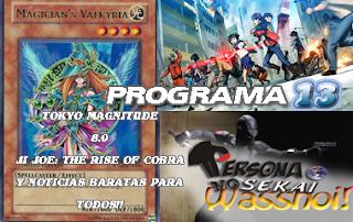 Persona No Sekai Wasshoi! programa 13 PodCast Anime