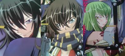 Code Geass Shikkoku no Renya Manga