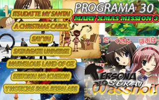 Persona No Sekai Wasshoi! Programa 30 PodCast Anime Espcial navidad