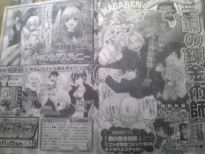 Fullmetal Alchemist Manga capitulo extra