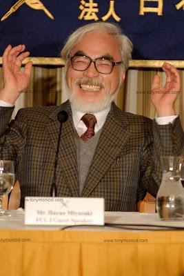 Hayao Miyazaki aniversario 70 años