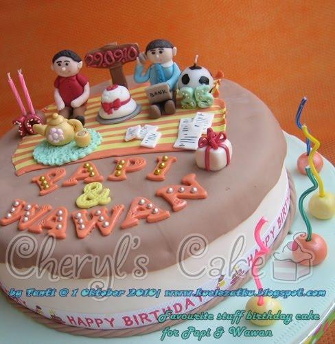 Birthday Cake: Favourite