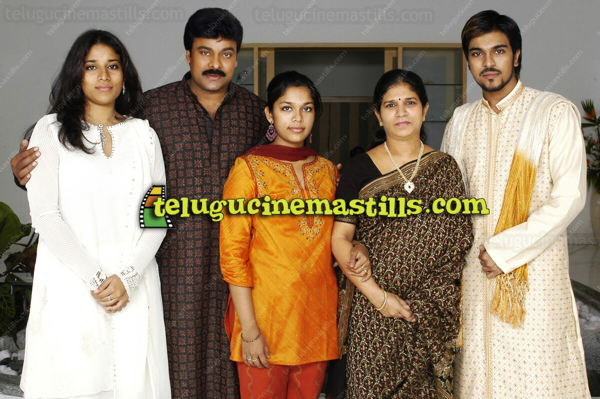 Chiranjeevi Family Photos