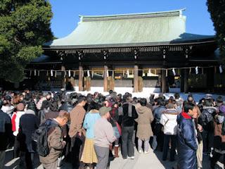 Meiji Shrine.