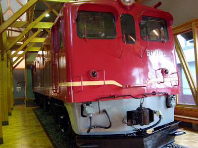 ED70 diesel locomotive, Nagahama Railroad Square