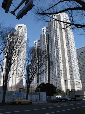 Tokyo skyscraper - Shinjuku Park Tower